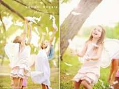 i-heart-faces-creative-child-photo-sessions-tutorial -   little girls, fairy wings and feathers