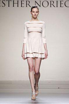 Esther Noriega, Fashion Week Madrid Otoño invierno 2015-2016