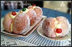 Donuts, Cake Recipes, Dessert Recipes, Biscotti Cookies, Pastry Art, Yummy Food, Tasty, Italian Cookies, English Food