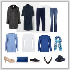 Capsule wardrobe for week-end break