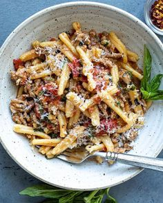 Pasta Recipes, Dinner Recipes, Cooking Recipes, Risotto Recipes, Yummy Recipes, Dinner Ideas, Best Simple Chocolate Cake, Nutella Banana Bread, Italian Sausage Pasta