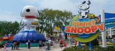 Planet Snoopy at Valley Fair
