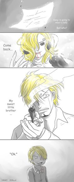 One Piece, Vinsmoke Reiju, Sanji