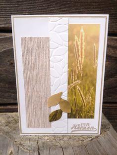 Kreative-Engelmama, Stampin´Up! Savanne, Olivgrün, Designerpapier im Block Stille Natur, Prägeform Blättermeer, Framelits Blütenzauber