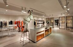 Sass Bide store by Akin Creative Sydney. Visit City Lighting Products! https://www.facebook.com/CityLightingProducts