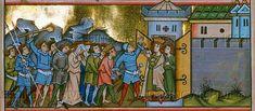 Manuscript:MS 13 - Aschaffenburg Golden Gospels (search) (external link)  Folio:18v  Location:Mainz, Germany  Dating:1225 - 1275  Institution:Aschaffenburg Hofbibliothek