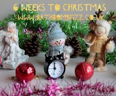 6 weeks to Christmas 🎄 Bath Quotes, Bath Bombs, Christmas Ornaments, Holiday Decor, Home Decor, Decoration Home, Room Decor, Christmas Jewelry, Bath Bomb