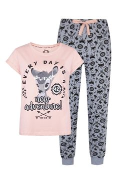 Primark - Pyjama Bambi rose