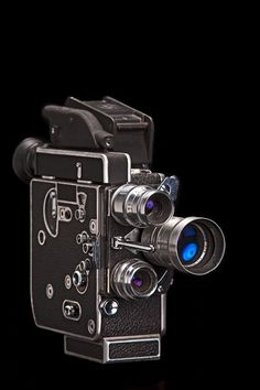 Vintage Super-8 Camera- we still develop old film. Check us out at www.filmrescue.com