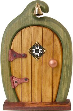 like the bell above the door and the pearl door handle. Topknot Tree House Fairy Door