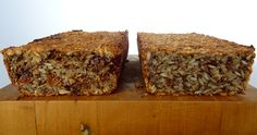 Sweet Savoury Version Embas Bread (adapted from my new roots, Life Changing Loaf of Bread) My New Roots, Healthy Bread Recipes, Superfoods, I Foods, Banana Bread, Food And Drink, Vegan, Baking, Sweet