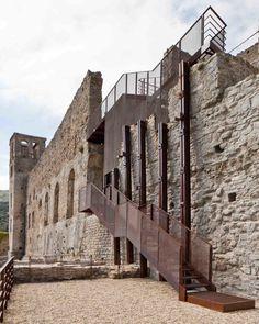 LD+SR, Andrea Bosio · Restoration of Doria Castle in Dolceacqua · Divisare