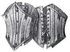 1894 Short Summer Corset Pattern