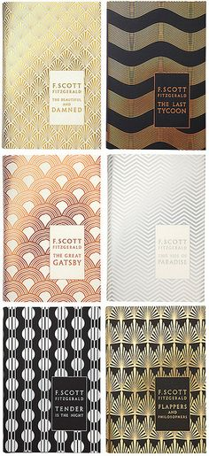 art deco book covers