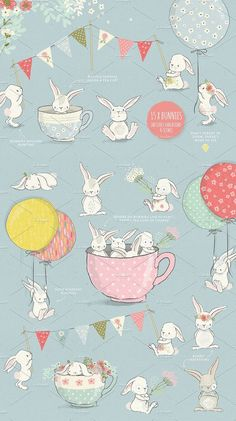The Fresh Spring Collection by Glanz on @creativemarket