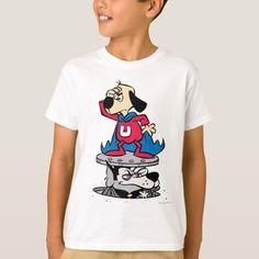 Underdog | Underdog & Riff Raff On Look-Out T-Shirt  beagle puppy funny, puppy things, teacup dachshund puppy #dog #dogsofinstagram #dogmania, back to school, aesthetic wallpaper, y2k fashion Beagle Gifts, Dog Gifts, Beagle Funny, Beagle Puppies, Teacup Dachshund, Pocket Beagle, Riff Raff, Fitness Models, T Shirt