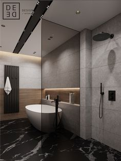Washroom Design, Bathroom Design Luxury, Modern Bathroom Design, Bathroom Colors, Small Bathroom, Home Room Design, House Design, Casa Milano, Concrete Bathroom
