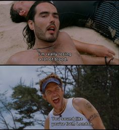 """Forgetting Sarah Marshall Quotes """"You sound like you're from London!"""""""