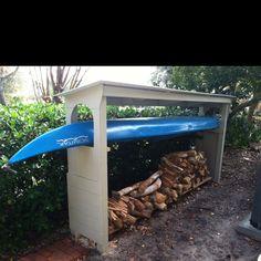 Kayak & Wood shed