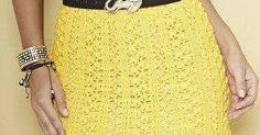 Olá!!!   Que saia linda é esta, não é?   Use a linha Charme da Círculo para fazer...fica com um caimento perfeito!!!   Espero que gostem!...