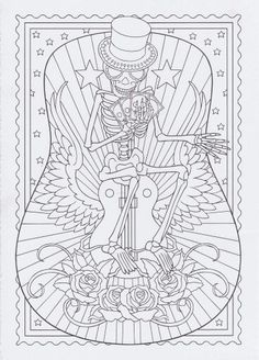 Glass Cup With Lemonade And Ice Pieces Adult Coloring Book Page A4