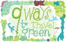 Sara Jo Frieden 9 ways to travel green