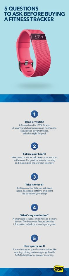 Finding the right fitness device is a workout in itself. There's a dizzying amount of features to choose from, so how do you know what's right for you? #fitness #fitnesstracker