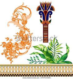 Textile Prints, Textile Design, Textiles, Design Seeds, Botanical Flowers, Geo, Flower Art, Royalty Free Stock Photos, Colorful