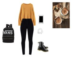 """Casual day"" by nereblogger on Polyvore featuring Dr. Martens and Vans"