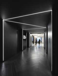 Office Tour: Coblentz Patch Duffy & Bass Offices – San Francisco (With images) Corridor Lighting, Linear Lighting, Office Lighting, Interior Lighting, Lighting Design, Ceiling Lighting, Lighting Ideas, Corporate Office Design, Modern Office Design