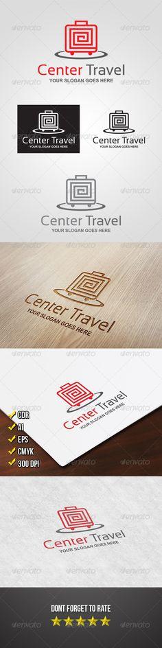 Center Travel Logo - graphicriver sale