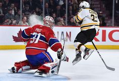 MONTREAL, QC - DECEMBER 12: Carey Price #31 of the Montreal Canadiens stops a shot by the Boston Bruins in the NHL game at the Bell Centre on December 12, 2016 in Montreal, Quebec, Canada. (Photo by Francois Lacasse/NHLI via Getty Images)