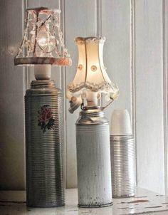 lampade shabby 3 - Arredamento Shabby