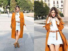via LookBook Long Trench Coat, Zara, Style, Swag, Outfits