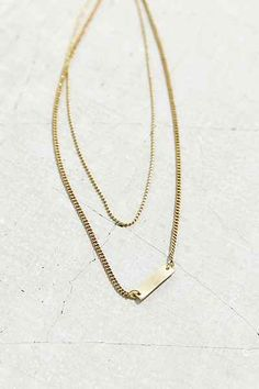 Perfect Layering Necklace - Urban Outfitters