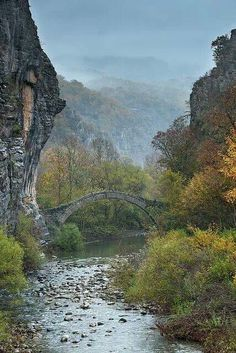20 Attractive Destinations That Everyone Should Visit Epirus- North Greece Great Places, Places To See, Beautiful World, Beautiful Places, Myconos, Old Bridges, Greece Travel, Beautiful Landscapes, Wonders Of The World