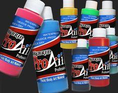 ProAiir Hybrid Waterproof Makeup - Face & Body Paint Singles -  - SOBA - Show Offs Body Art - 1