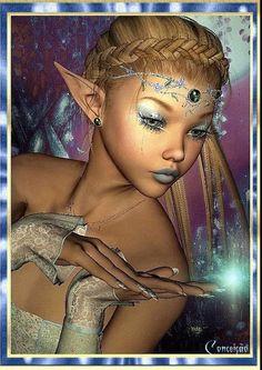 Carita by janrique fairy dust, fairy tales, fairy land, fantasy world, fantasy 3d Fantasy, Fantasy World, Fairy Dust, Fairy Tales, Fairy Land, Marah Woolf, Black Fairy, Elfa, Kobold