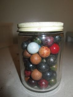 Nice Lot of Vintage Clay Marbles Estate Find | eBay