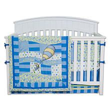 Dr. Seuss Oh! the Places You'll Go! 4-Piece Crib Bedding Set
