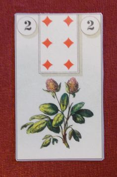 French Cartomancy - Clover Lenormand Card