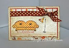 kit: comfy cozy - kit can be found at www.unitystampco.com -  unity stamp company - card created by robyn weatherspoon
