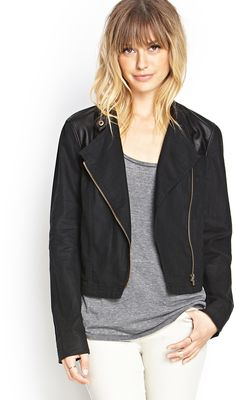 Blond ombre with bangs - Jacket at F21
