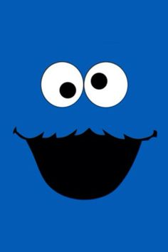 cookie monster wallpaper - Cookie Monster Face Coloring Pages