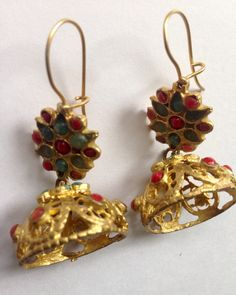 A personal favorite from my Etsy shop https://www.etsy.com/listing/230644259/antique-dangle-earrings-vintage-handmade