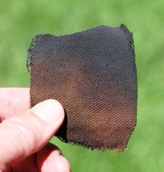 A Survival Kit Necessity: How to Make Charcloth | Survival Common Sense: tips and how-to guide for emergency preparedness and survival