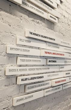"""""""Wall of fame"""" for contributors"""