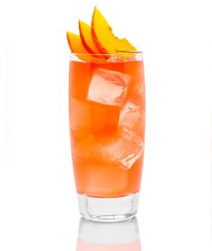Summer Peach  150 Calories    2 oz. X-Rated Fusion Liqueur  4 oz. Peach Tea  Peach slice for garnish  In a cocktail shaker filled with ice, combine X-Rated Fusion Liqueur, peach tea, and shake vigorously. Strain into an ice cube filled highball glass and garnish with peach slice.