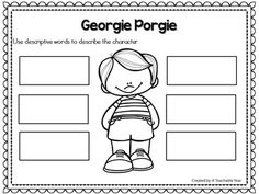Georgie Porgie -Nursery Rhyme This interactive nursery rhymes resource promotes phonemic awareness, rhyming skills, oral language, and literacy skills! With Pre-Kindergarteners, Kindergarteners, 1st graders & homeschoolers in mind, this engaging resource is ideal for your literacy and poetry centers. Great for guided reading & intervention work as well!{Pre-K, K, 1st}