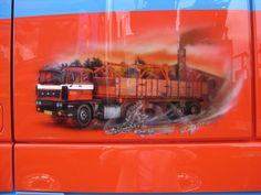 Daf Xf Van Toorn Airbrush